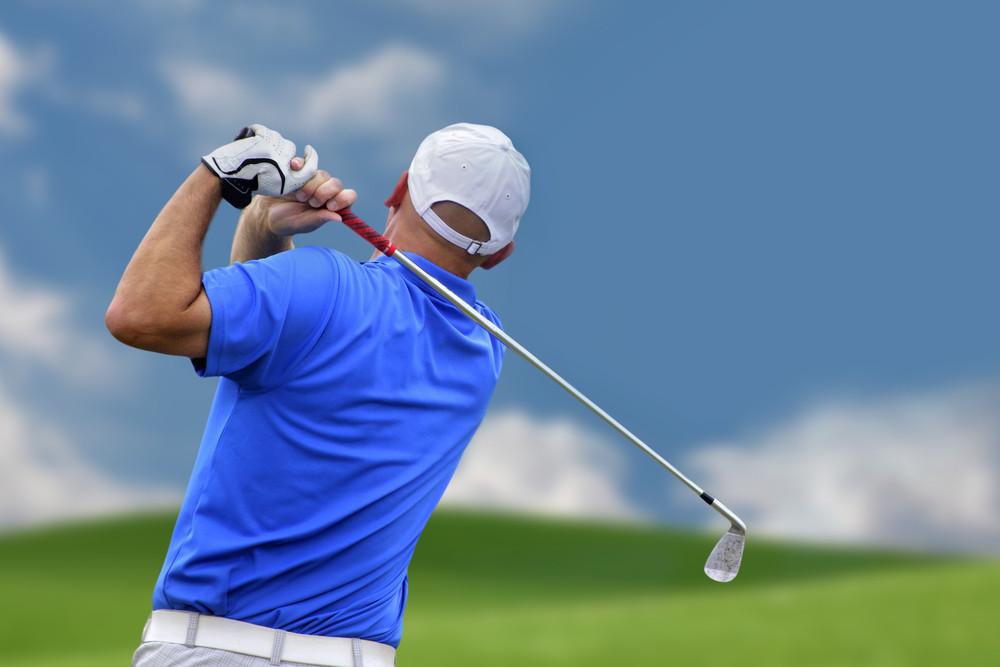 golf swing injury